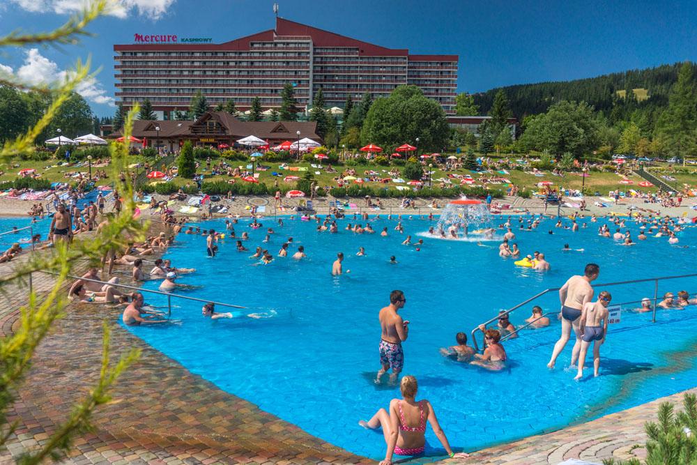 Bathing Pool At Szymoszkowa In Zakopane Beach On Beachlikecom