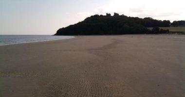 Llansteffan Beach, Tywi River