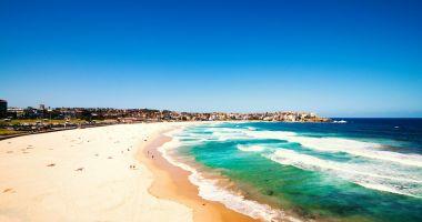 Bondi Beach in Sydney, Pacific Ocean