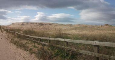 Plaża Crosby Beach, Crosby, United Kingdom