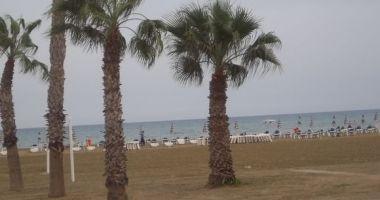 Finikoudes Beach, Larnaka, Cyprus