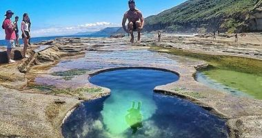Figure 8 Pool in Royal National Park, Australia