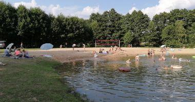 Beach at Szczercow Lagoon