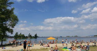Sudecka Beach in Bielawa, Lake Bielawskie