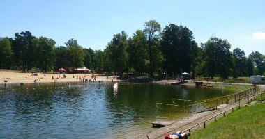 City Batching Beach Olcha in Zielona Gora, Ochla Lagoon