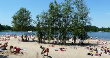 Plaża w Bieruniu nad Jeziorem Łysina